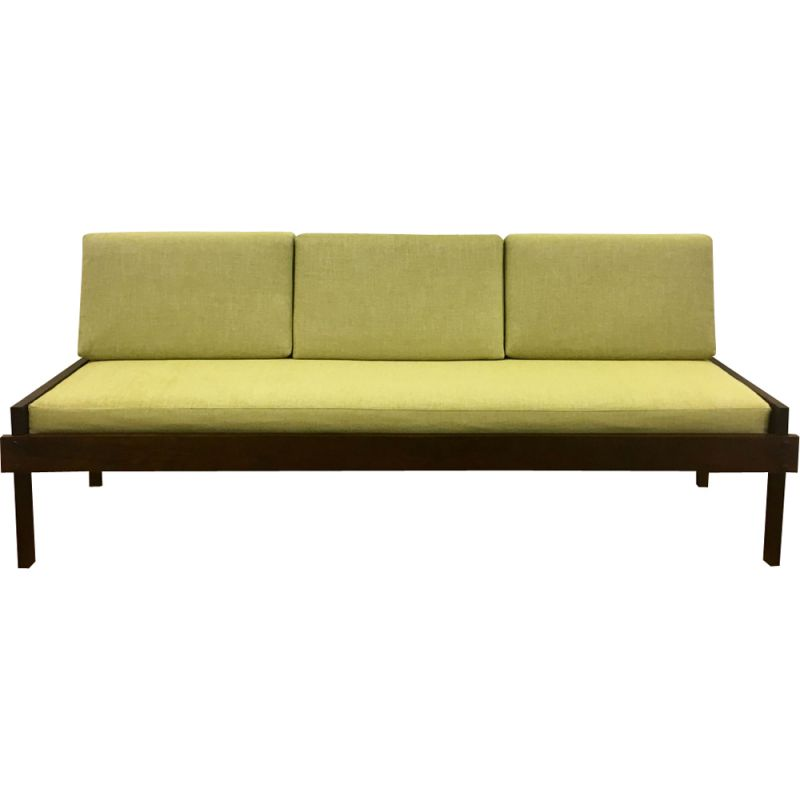 Vintage daybed in Rio rosewood, Brazil 1960