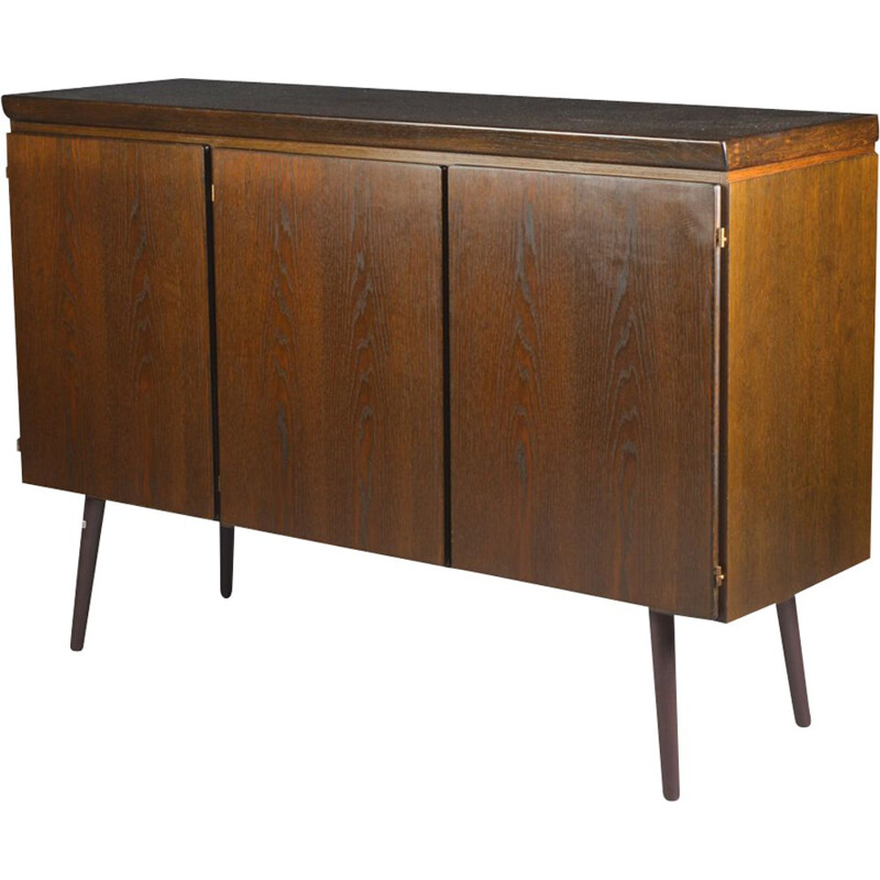 Vintage sideboard in oak Scandinavian 1950s