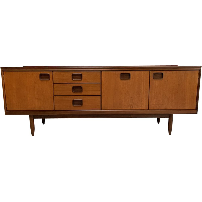 Vintage sideboard in teak by W.Lawrence England 1960s
