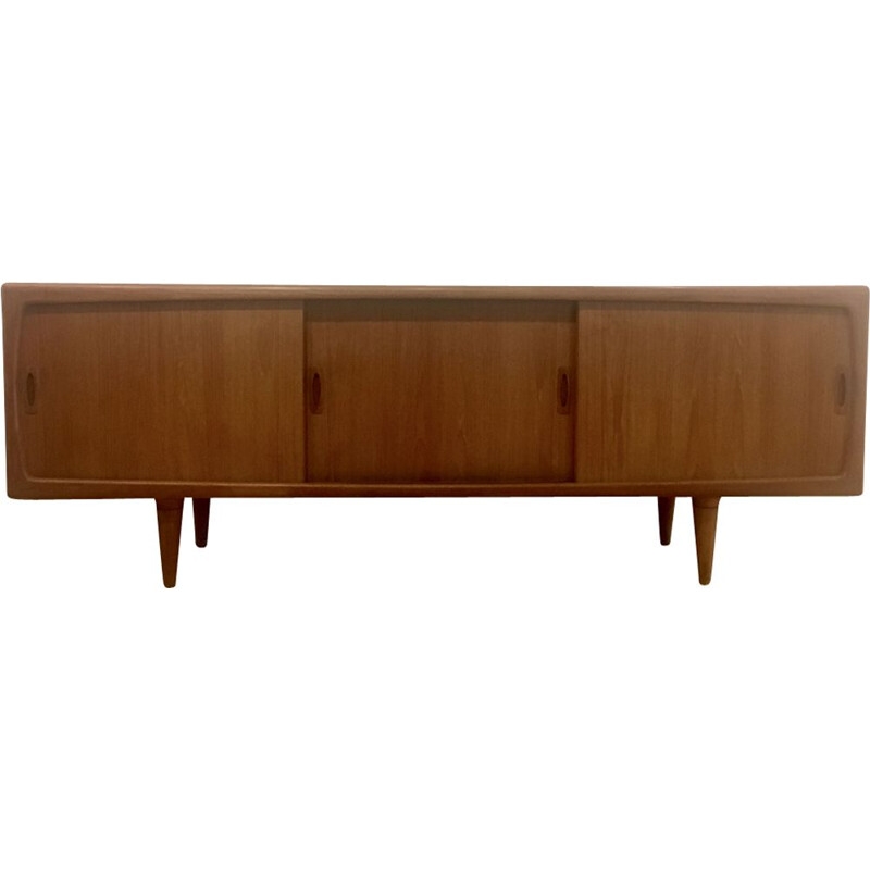 Vintage Danish sideboard in teak by Hans Peter Hansen, Denmark,1960