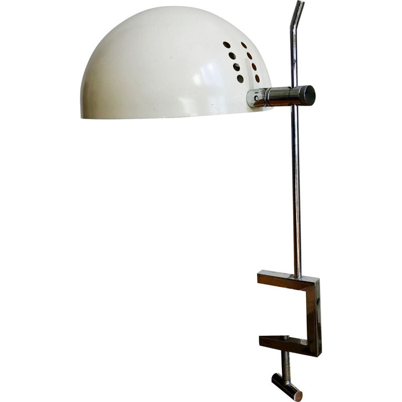 Vintage A22 metal lamp by Alain Richard Edition Disderot 1960s