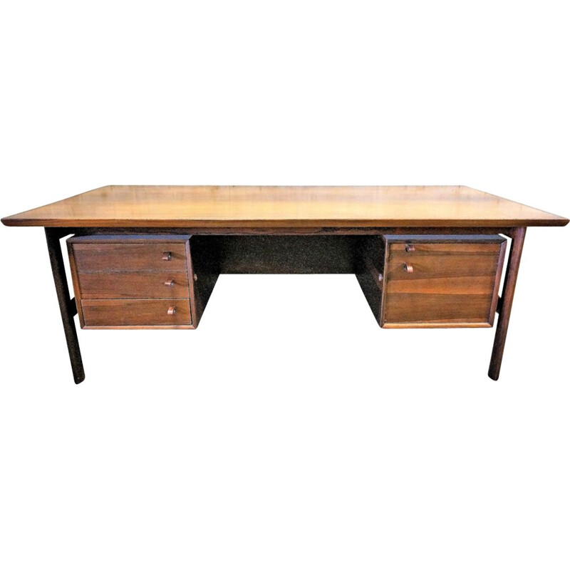 Vintage Scandinavian steering desk by Arne Vodder