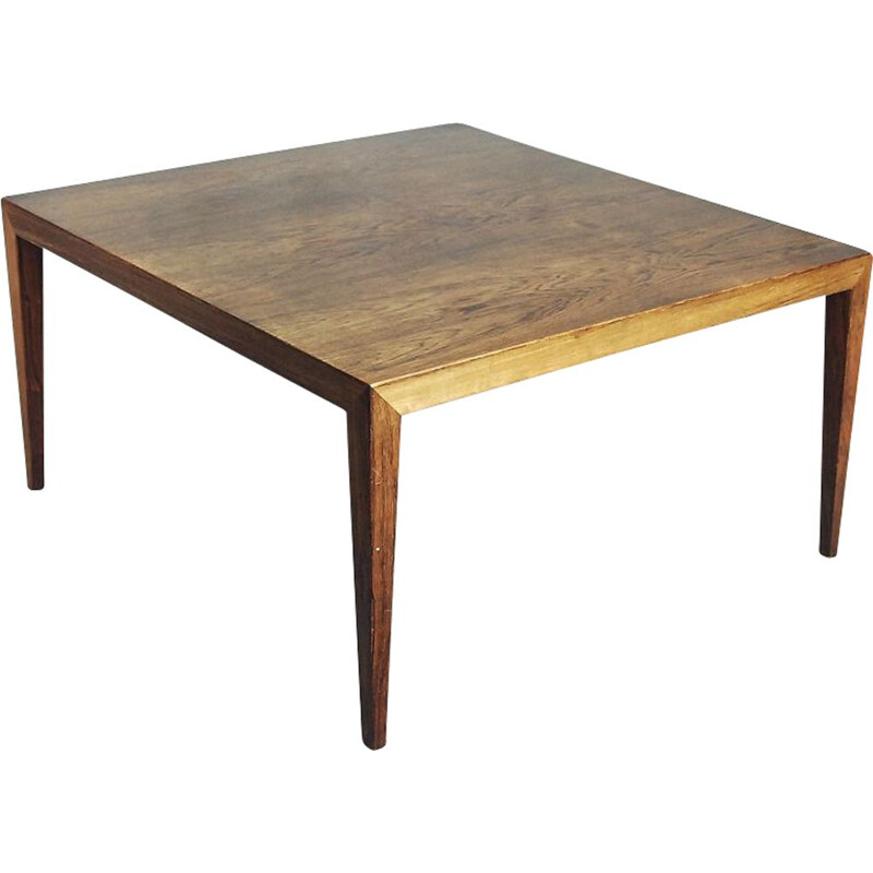 Vintage coffee table for Haslev Møbelfabrik in rosewood 1960