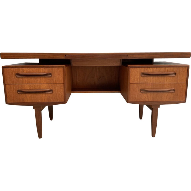 Vintage desk by Wilkins in teakwood 1960