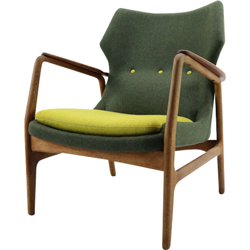 Vintage armchair by Aksel Bender Madsen for Bovenkamp 1950s