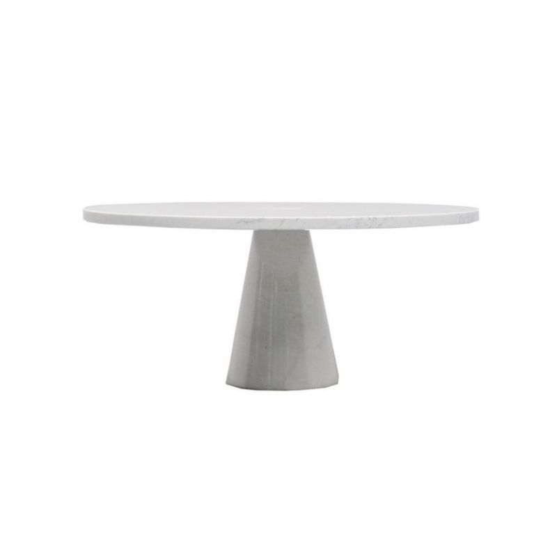 "Coffee table AGAPECASA ""Eros"" 90cm round, Angelo Mangiarotti"