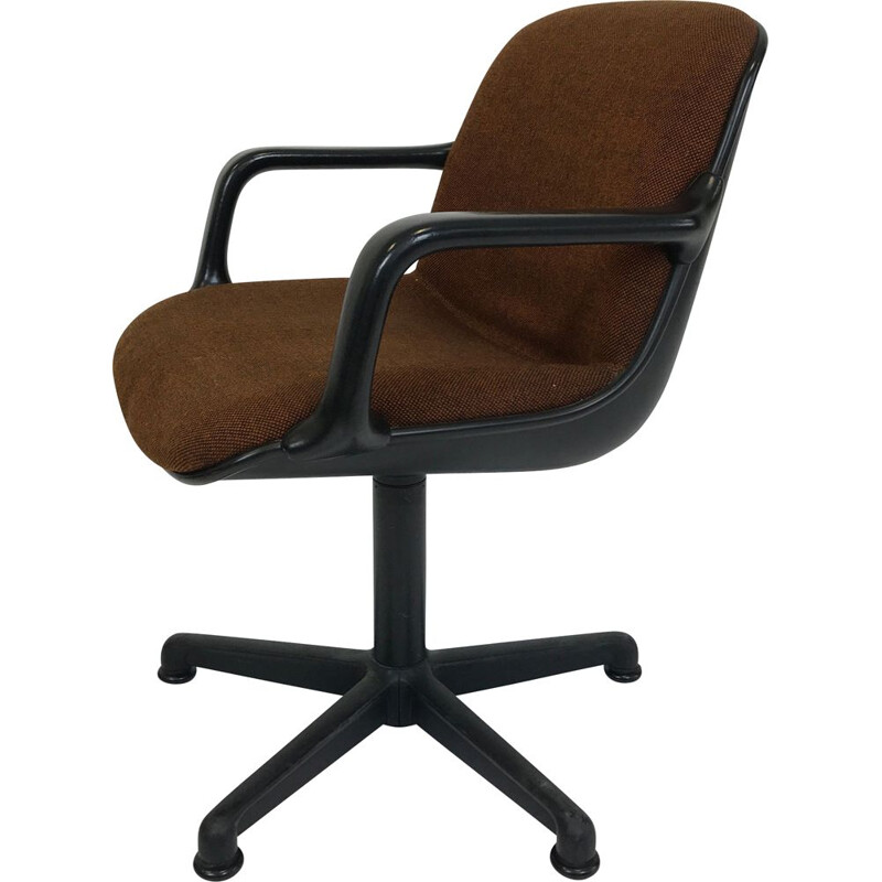 Vintage desk chair Comforto by Charles Pollock 1970s