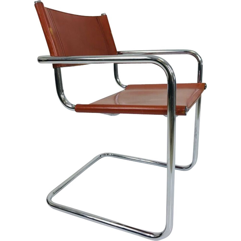 Vintage armchair B34 by Marcel Breuer 1940s