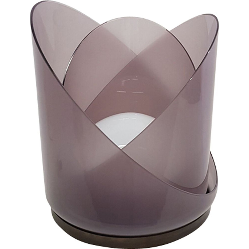 Vintage table lamp by Carlos Nason for Mazzega,1974