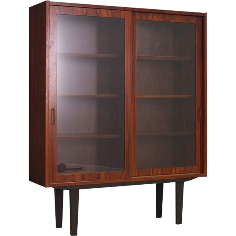 Vintage bookcase by Hundevad in rosewood 1960