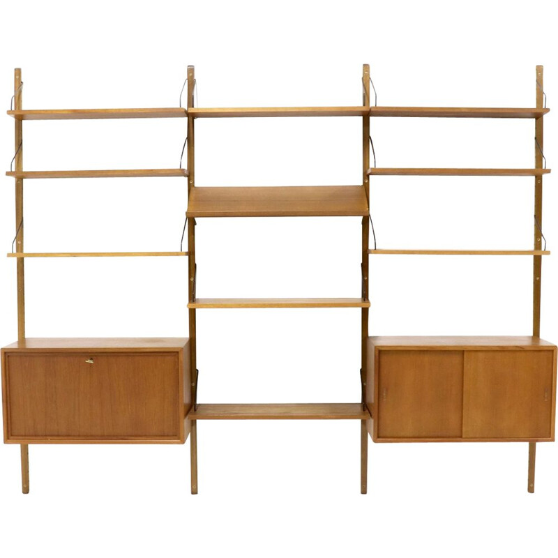 Vintage Royal System wall unit by Cadovius for Cado in teak 1960