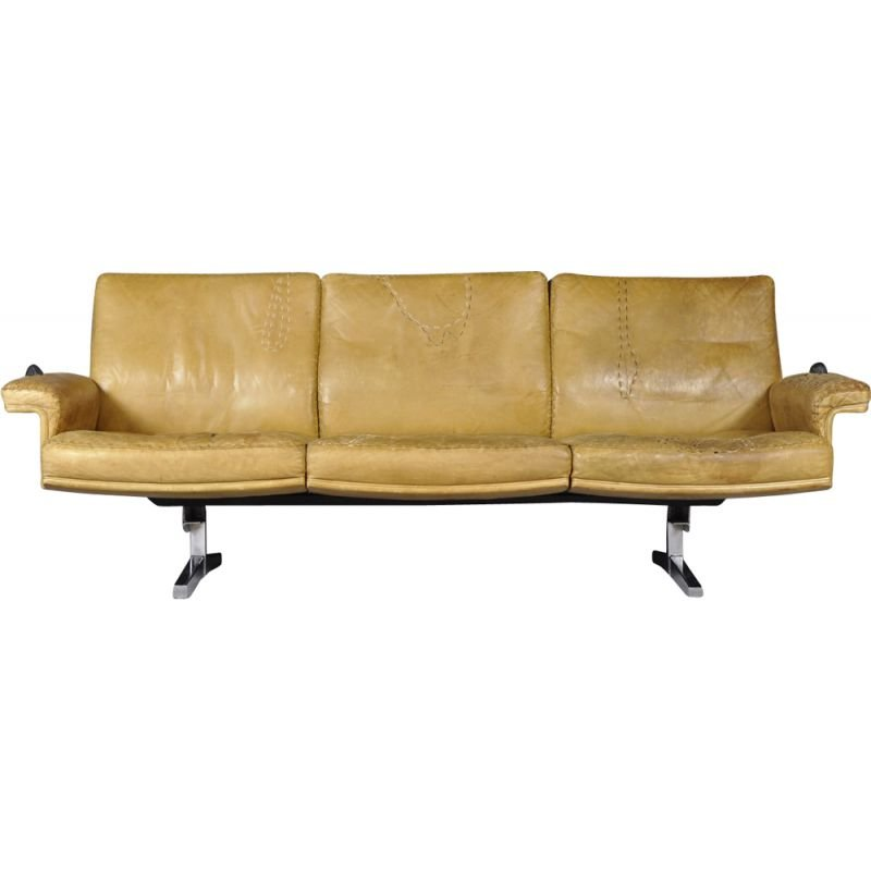 Vintage DS35 sofa in leather by De Sede