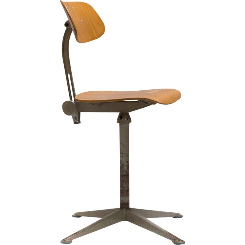 Vintage workshop chair by Friso Kramer