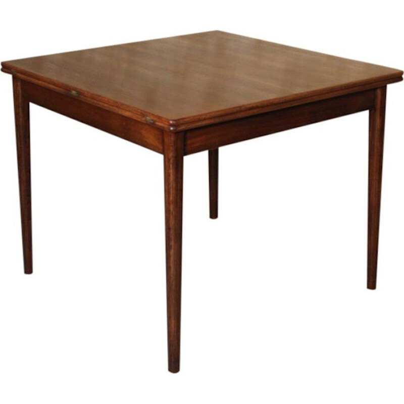 Vintage dining table in teak extendable by Nils Jonsson for Troeds 1960