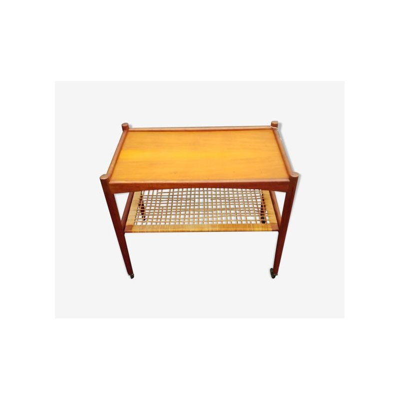 Scandinavian Serving Table In Teak