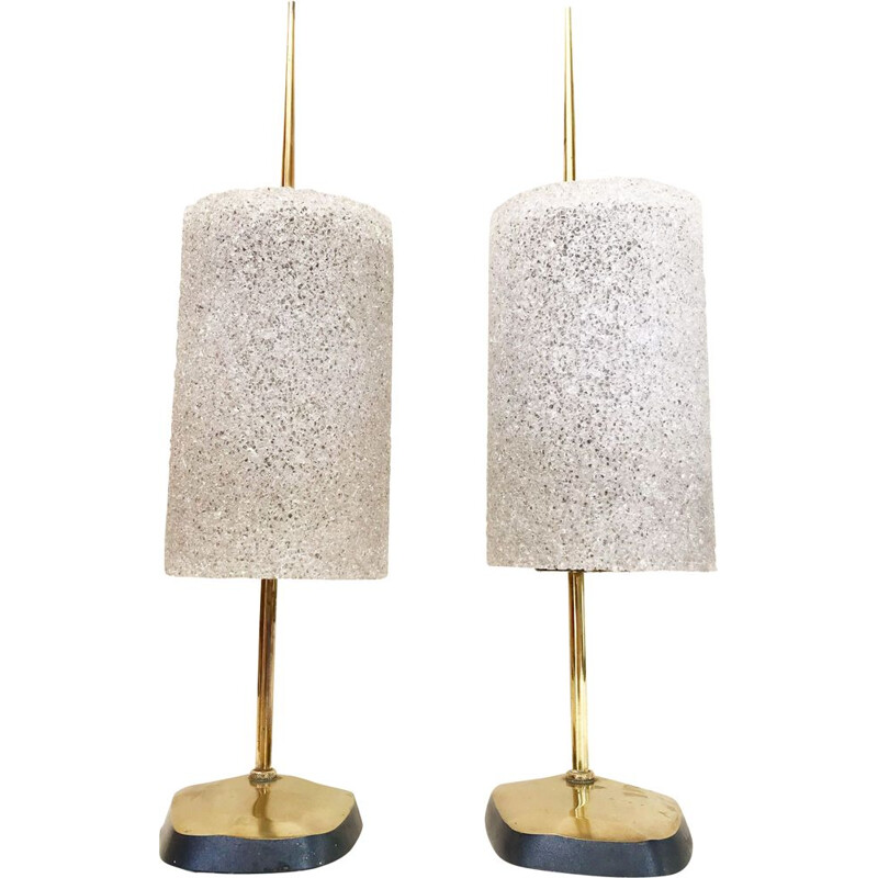 Pair of vintage arlus lamps 1960