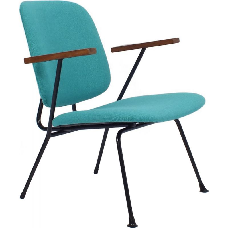 Vintage armchair kembo by W. Gispen 1950