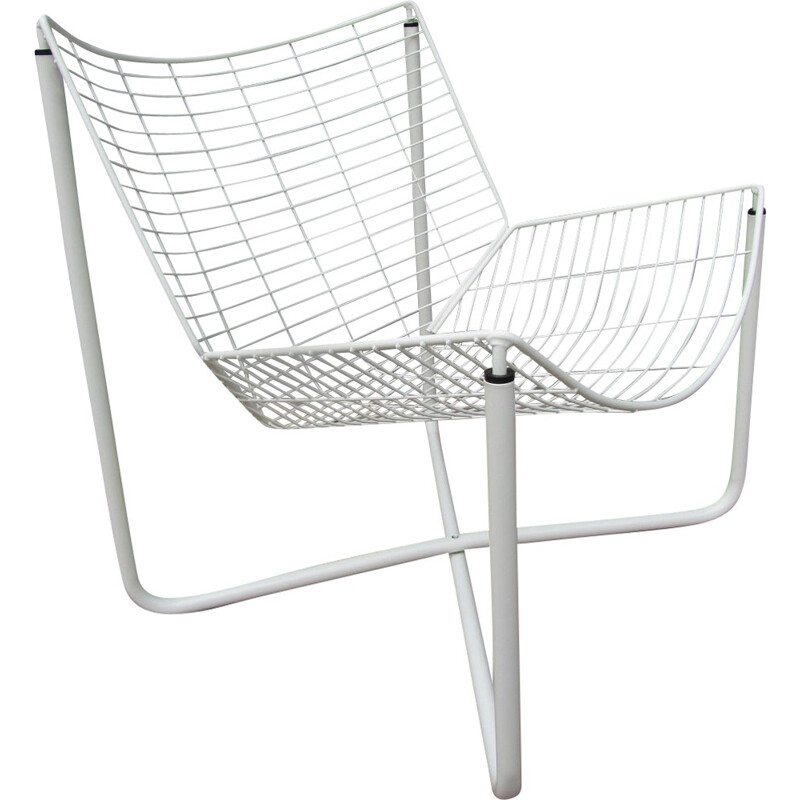 White metal Jarpen chair, Niels GAMMELGAARD - 1983