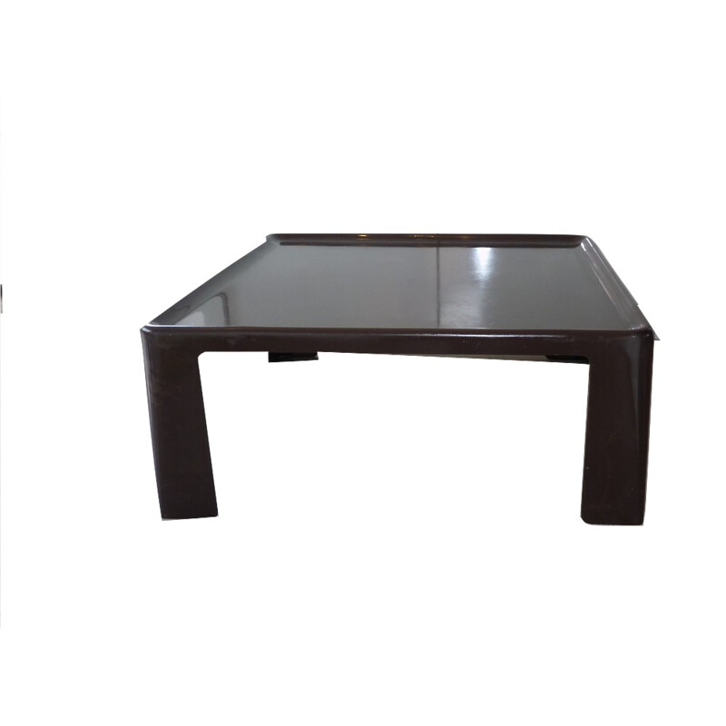 BB Italia coffee table in brown fiber glass, Mario BELLINI - 1970s