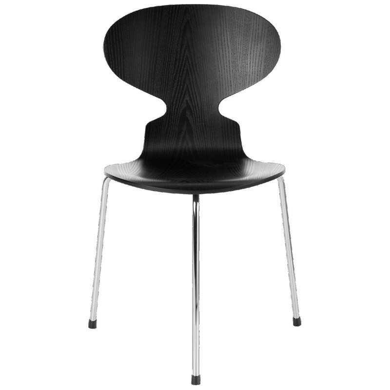 """""""Ant chair"""" 3 feet and colourd ash by Arne Jacobsen for FRITZ HANSEN"""