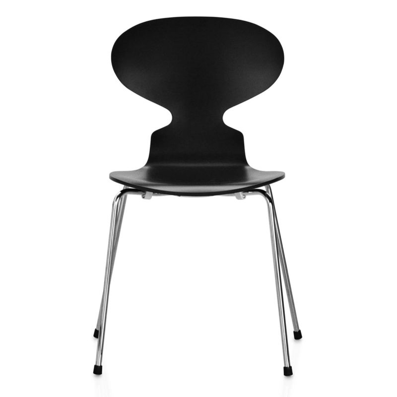 """Ant chair"" 4 feet and laquered oak by Arne Jacobsen for FRITZ HANSEN"