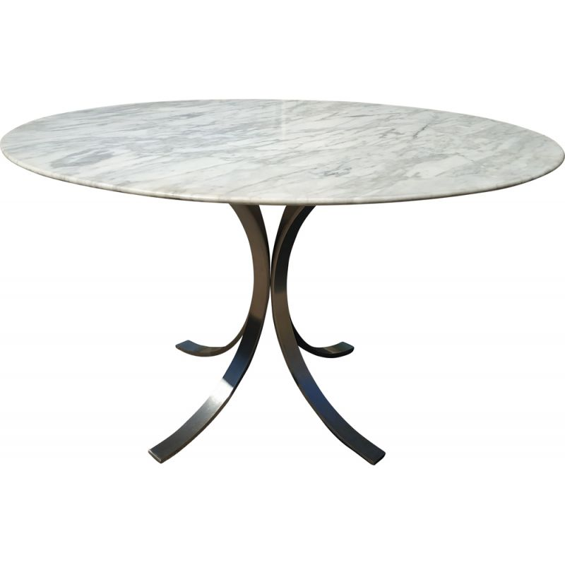 Vintage marble dining table 1970