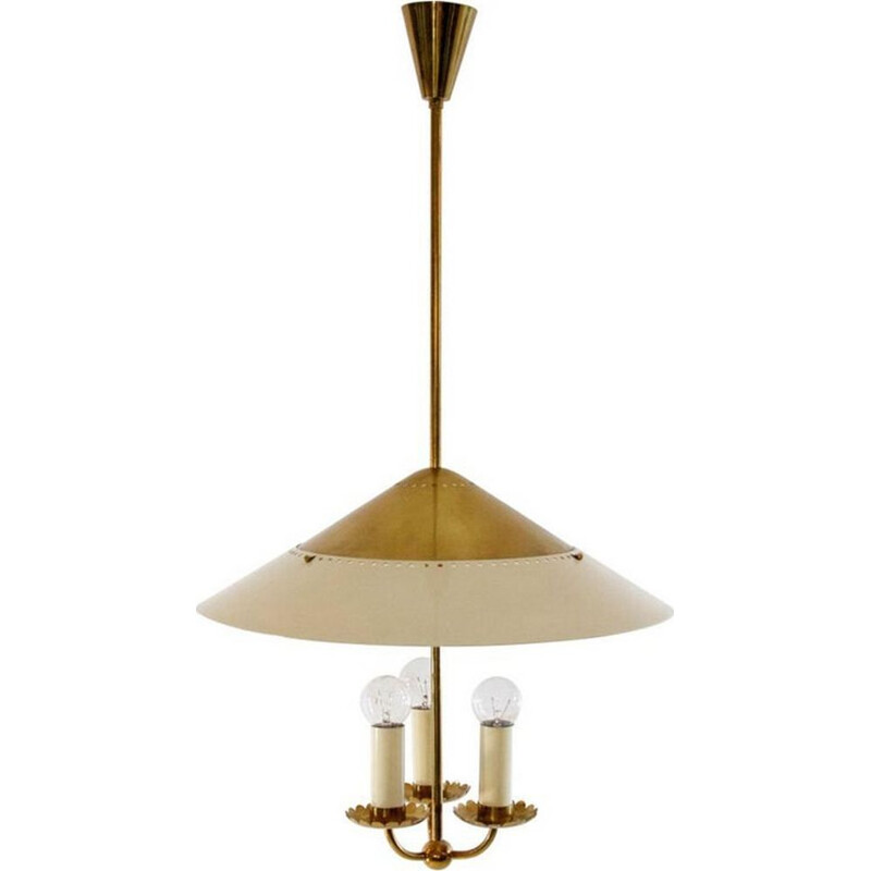 Vintage Brass pendant lamp by Stilnovo