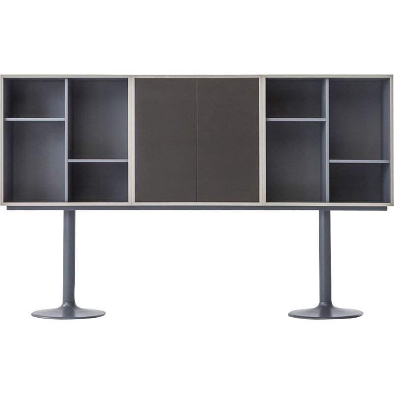 """LC20 - CASIER STANDARD"" bookcase, A6 or B6, Le Corbusier for CASSINA"
