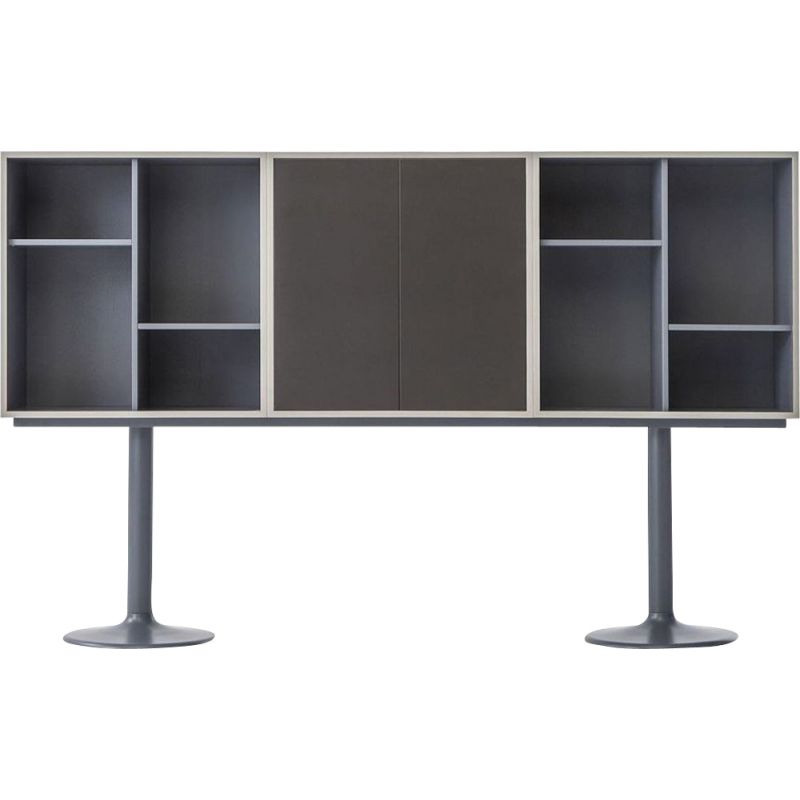 """""""LC20 - CASIER STANDARD"""" bookcase, A6 or B6, Le Corbusier for CASSINA"""