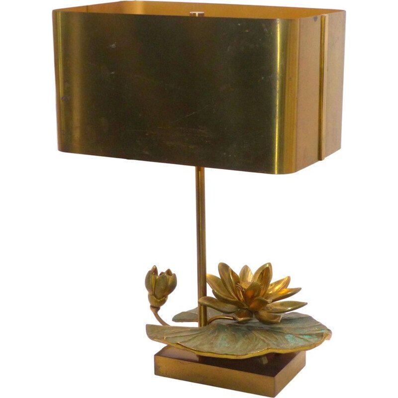 Golden Lily lamp by Maison Charles