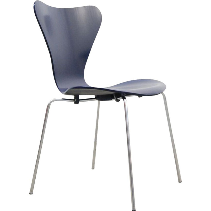 Vintage Chair Butterfly serie 7 by Arne Jacobsen for Fritz Hansen, 1960s