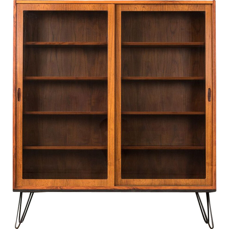 Vintage bookcase in rosewood by Poul Hundevad Denmark 1960s