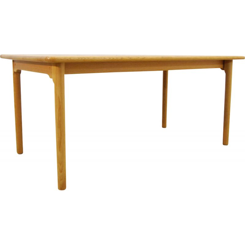 Vintage Oak Dining Table by Kurt Østervig for KP Møbler 1970s