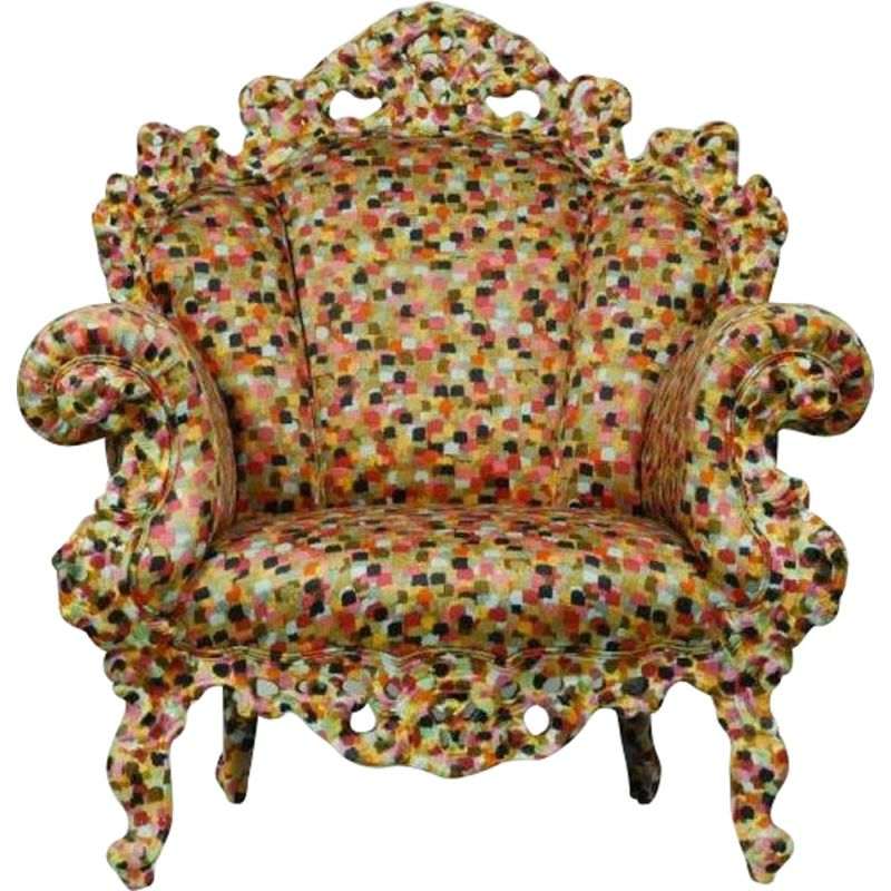 Proust armchair by Alessandro Mendini for CAPPELLINI
