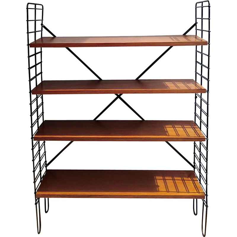 Vintage string shelf 1960