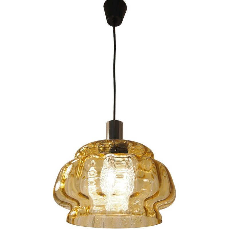 Vintage pendant lamp by Carl Fagerlund ORREFORS 1960