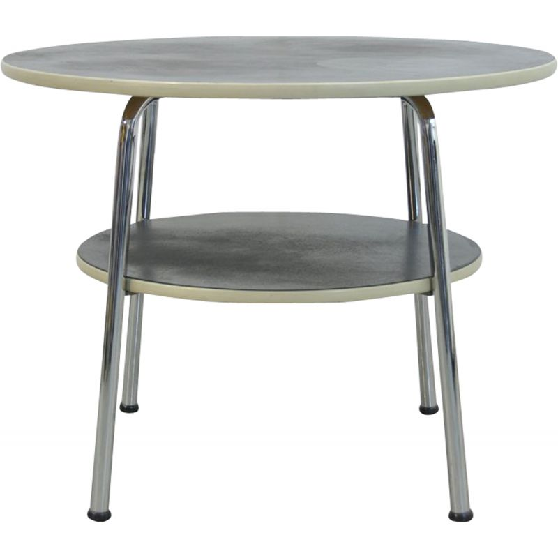 Vintage Industrial side table by W.H. Gispen