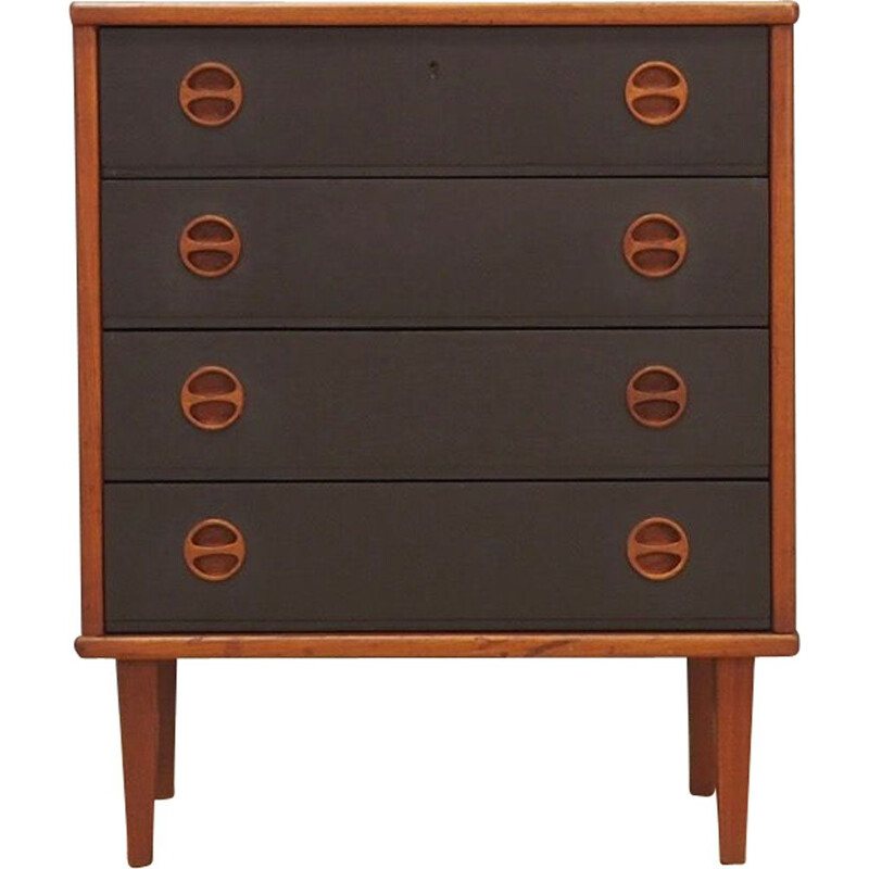 Vintage chest of drawers in teak Denmark 1960-70s