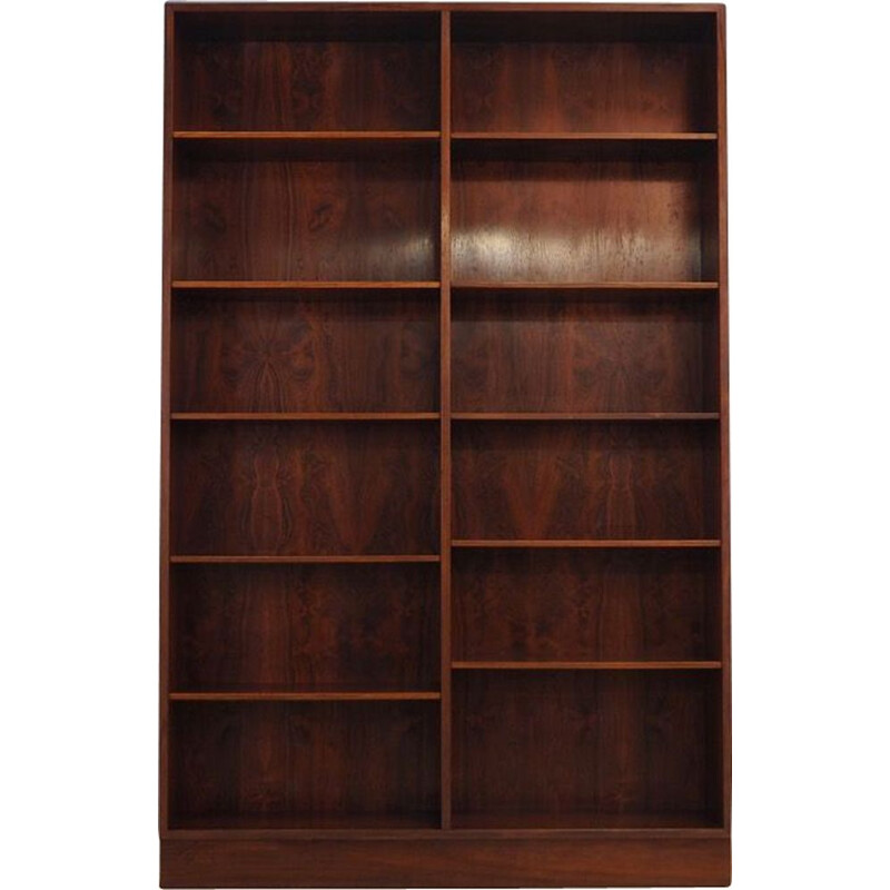 Vintage bookcase in rosewood model 12 by Omann Jun 1960-70s