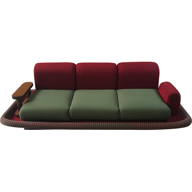"Vintage 3-seater sofa ""Tappeto Volante"" by Ettore Sottsass,1974"