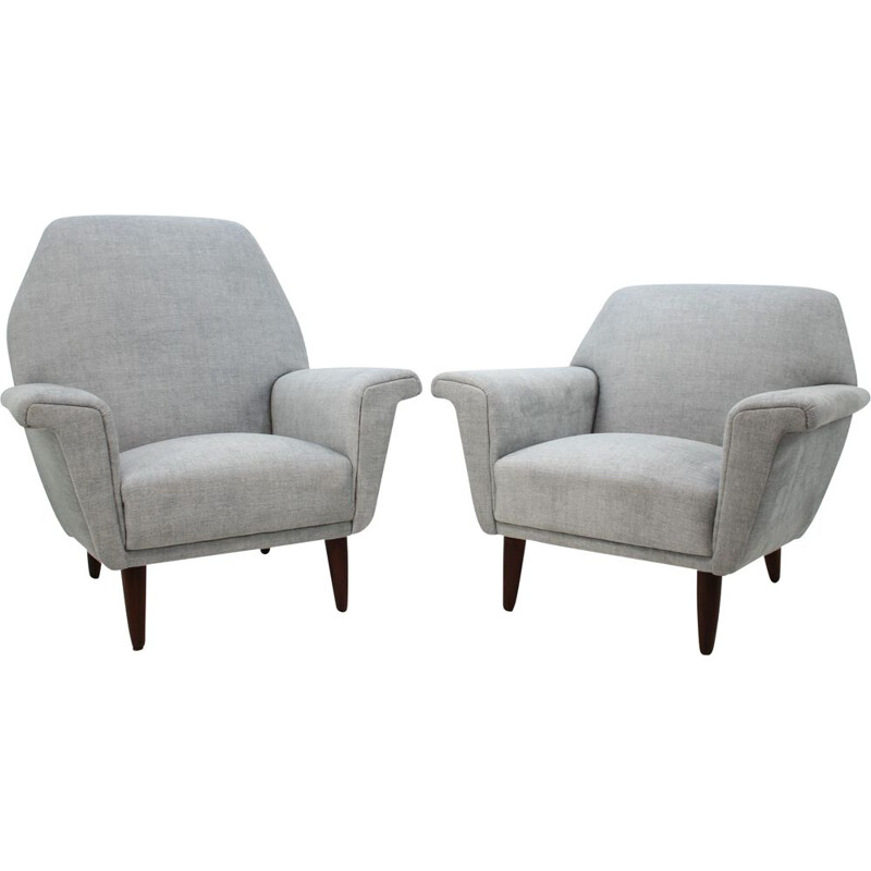 Set of 2 vintage armchairs by Georg Thams 1960