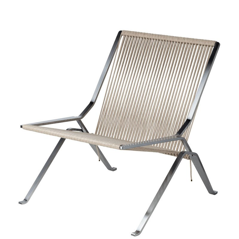 """PK25""  armchair by Poul Kjaerholm for FRITZ HANSEN"