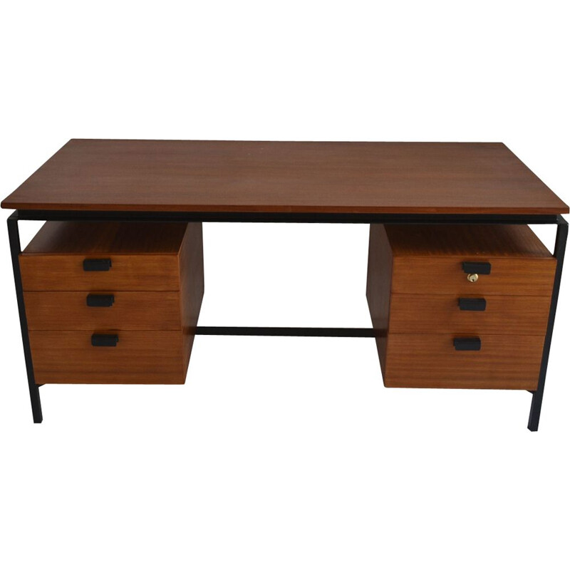 Vintage desk CM 172 by Pierre Paulin for Thonet