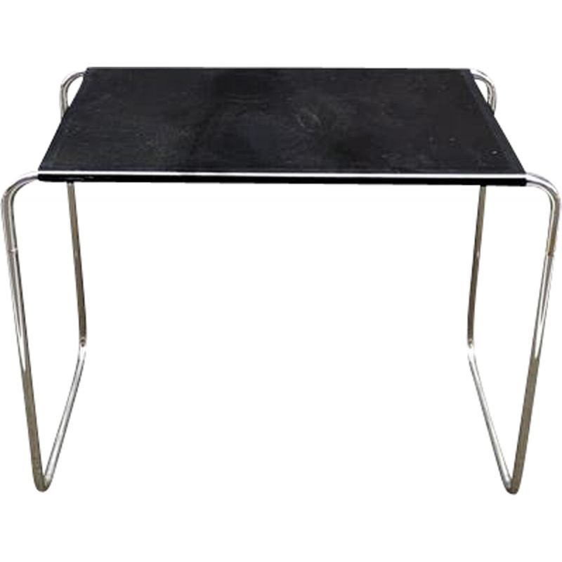 Black metal console by Marcel Breuer