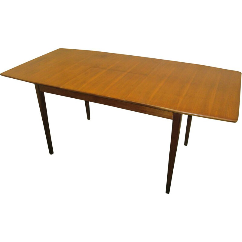 Vintage teak extendable table