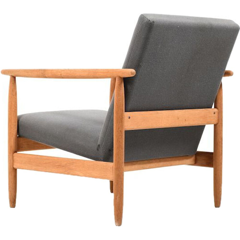 Vintage Danish lounge chair by Ejvind A. Johansson for FDB