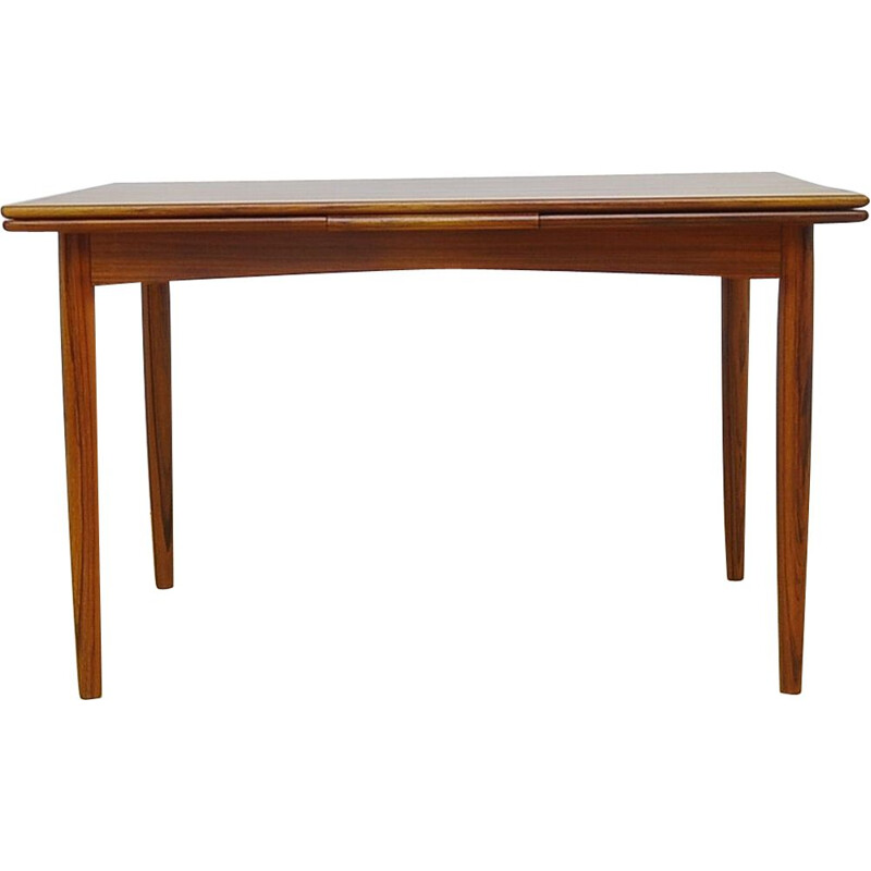 Vintage extendable danish table in teakwood 1960