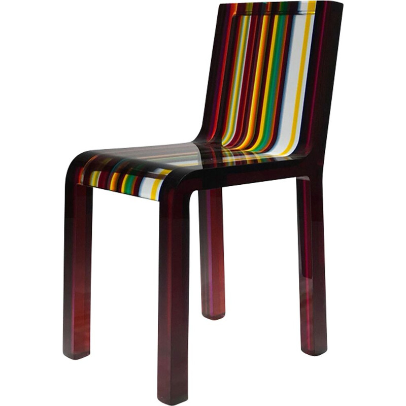 "Rare Chair ""RAIMBOW"" by Cappellini, Patrick Norguet"