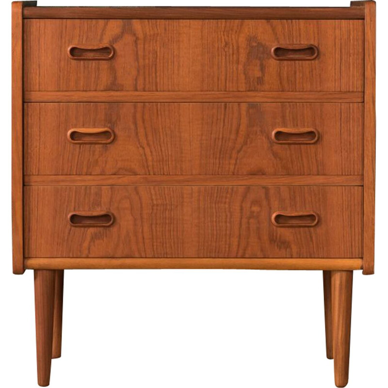 Vintage teak chest of drawers by Dyrlund 1960s