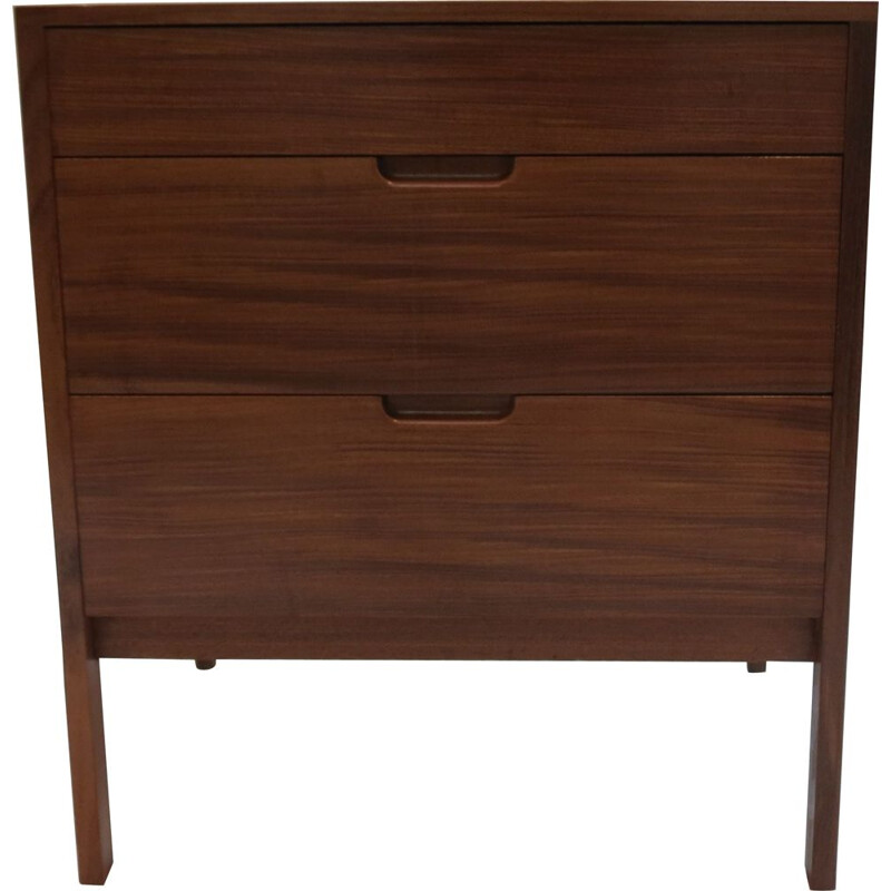 Vintage afrormosia chest of drawers by Richard Hornby for Fyne Ladye 1960s